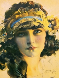 Rolf Armstrong - Portrait of Betty